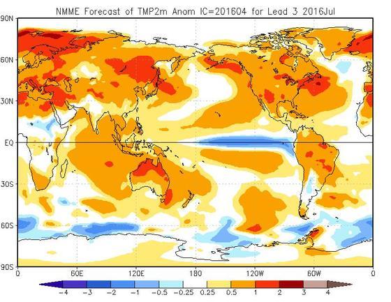 Previsioni Meteo Luglio 2016: tendenza temperature e piogge