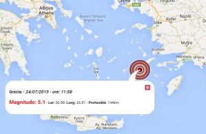 Terremoto grecia 25 luglio 2015 sisma m 51 nel dodecanneso dati la mappa del terremoto di oggi nel dodeccaneso altavistaventures Image collections