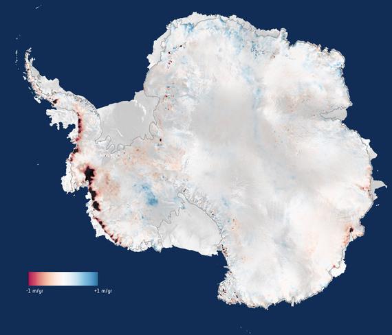 Antartide sempre più caldo, lo afferma un recente studio dell'ESA