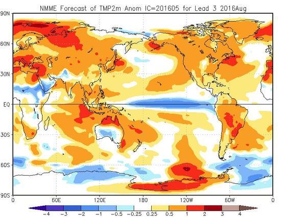 Meteo Agosto 2016, tutte le tendenze e previsioni aggiornate - cpc.ncep.noaa.gov