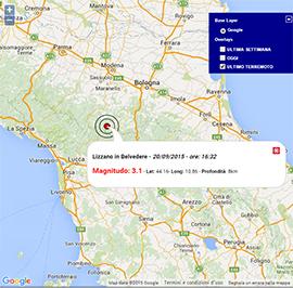 Terremoto oggi emilia romagna 20 settembre 2015 scossa m for Oggi in romagna