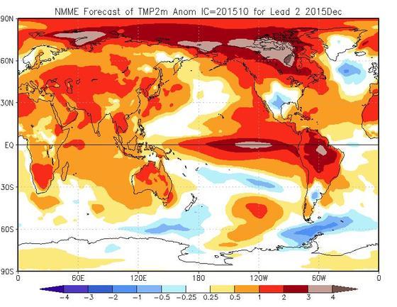 Previsioni Meteo Dicembre 2015: tendenza temperature e piogge