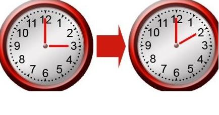 Ora solare cambio di orario 2015 in italia nel weekend for Quando entra in vigore l ora legale