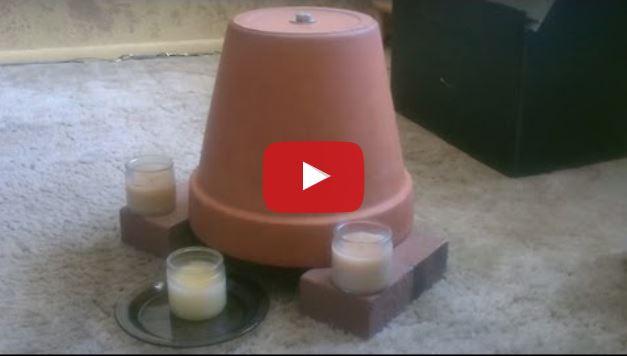 Riscaldarsi senza termosifoni televisore o vaso e candele - Riscaldare casa gratis ...