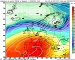 Analisi Modelli Gfs 00Z del 26 novembre 2015: conferme sull'anticiclone di inizio Inverno