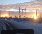 Strano fenomeno in Alaska all'alba compaiono non uno ma...due soli