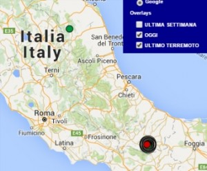 terremoto oggi italia 18 gennaio 2016