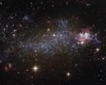Hubble identifica una nuova galassia, è NGC 5408 (Fonte: asi.it)