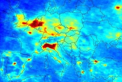 Inquinamento dell'aria smog e polveri sottili nuovamente protagonisti specie in Pianura Padana