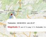 terremoto oggi 3 febbraio brescia