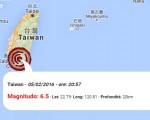 terremoto taiwan oggi
