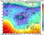 Analisi Modelli Gfs 00Z del 8 febbraio 2016: correnti atlantiche porteranno altre piogge e nevicate in montagna