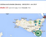 terremoto oggi sicilia 8 febbraio 2016