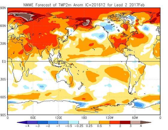 Meteo Febbraio 2017, tutte le tendenze e previsioni aggiornate - cpc.ncep.noaa.gov
