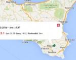 Terremoto oggi Italia 13 marzo 2016: due scosse M 2.1 in Sicilia e nel Tirreno Meridionale, in Piemonte M 2.0, M.2.8 Trentino / Dati Ingv