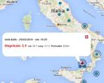 terremoto oggi 25 marzo