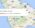 terremoto oggi  cazlab