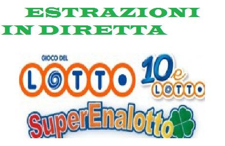 Calendario Estrazioni Superenalotto.Estrazioni 10 E Lotto Del 14 Aprile