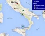 Terremoto oggi 5 aprile 2016 scossa M 2.9 Isole Eolie, M 2.1 provincia di Perugia dati Ingv