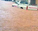 Alluvione in Arabia Saudita strade come fiumi in piena a Ta'if, vicino La Mecca