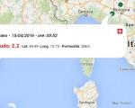 terremoto oggi italia 15 aprile
