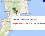 terremoto oggi calabria italia