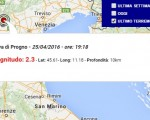 terremoto oggi veneto 26 aprile 2016