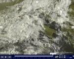 Tempo in atto molte nubi sparse con precipitazioni al Nord Est anche a carattere di neve