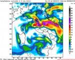 Modello GFS elaborato dal nostro Centro di Calcolo - Preciptazioni accumulate tra le 00Z e le 06Z del 02 maggio 2016