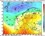 Analisi Modelli Gfs 00Z del 1 Maggio 2016: prima decade del mese segnata dall'instabilità