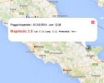 Terremoto oggi Puglia, 1 maggio 2016: scossa M 2.3 in provincia di Foggia - Dati Ingv