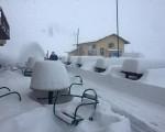 Ecco come si presentava Prali il primo giorno di maggio la neve è caduta abbondante su tutte le Alpi centro occidentali fino anche in Francia - Valentina Costantino via Valchisone.it