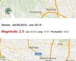 terremoto oggi veneto 4 maggio