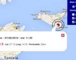 Terremoto oggi Sicilia 7 maggio 2016 scossa M 3.5 provincia di Ragusa - Dati Ingv