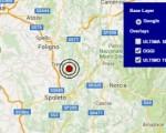 Terremoto oggi Umbria 10 maggio 2016 scossa M 2.6 provincia di Perugia - Dati Ingv