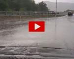 Maltempo in autostrada: piogge intense tra Firenze e Bologna