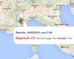 Terremoto oggi Piemonte Puglia, 24 maggio 2016: scossa di M 2.5 in provincia di Cuneo e M 2.0 in provincia di Foggia - Dati Ingv
