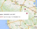 Terremoto oggi Emilia Romagna 25 maggio 2016: scossa M 2.1 provincia di Bologna, M 2.1 in provincia di Udine - Dati Ingv