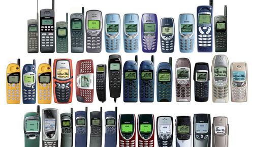 Risultati immagini per vecchi cellulari