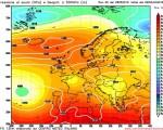 Analisi Modelli Gfs 00Z del 28 Maggio: ultime ore di Anticiclone prima dell' ingresso di correnti più fresche e umide