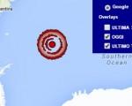 Terremoto Isole Sandwich 28 maggio 2016 forte scossa M 7.1 - Dati Ingv