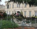Un grosso albero è caduto sulla folla nel Padovano: 4 feriti