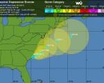 Tempesta tropicale Bonnie landfall negli Stati Uniti, attesi venti forti e piogge torrenziali