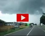 Maltempo in Lombardia: violenta tromba d'aria nel Lodigiano