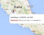 Terremoto oggi Lazio e Umbria, 31 maggio 2016: scossa M 3.4 in provincia di Viterbo, M 2.6 provincia di Terni - Dati Ingv