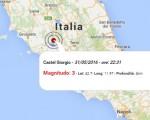 Terremoto oggi Umbria, 31 maggio 2016: scossa M 3.0 in provincia di Terni - Dati Ingv