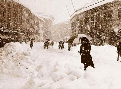 Neve l'1 giugno accadde a Bologna durante una intensa ondata di freddo tardiva