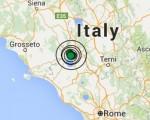Terremoto oggi Umbria e Lazio 2 giugno 2016 sequenza sismica tra le province di Terni e Viterbo, M 3.2 la maggiore - Dati Ingv