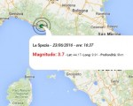 Terremoto oggi Liguria e Toscana, 23 giugno 2016: scossa M 3.7 La Spezia, M 2.9 e M 2.0 Siena - Dati Ingv