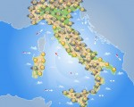 Previsioni Meteo Italia, domani 25 Giugno